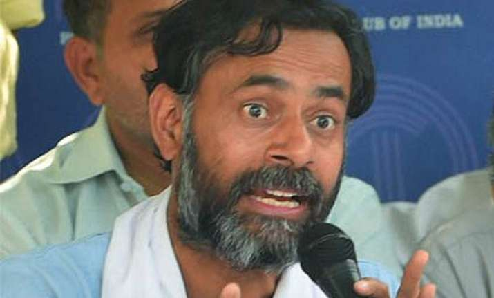 yogendra yadav others released delhi police to high court