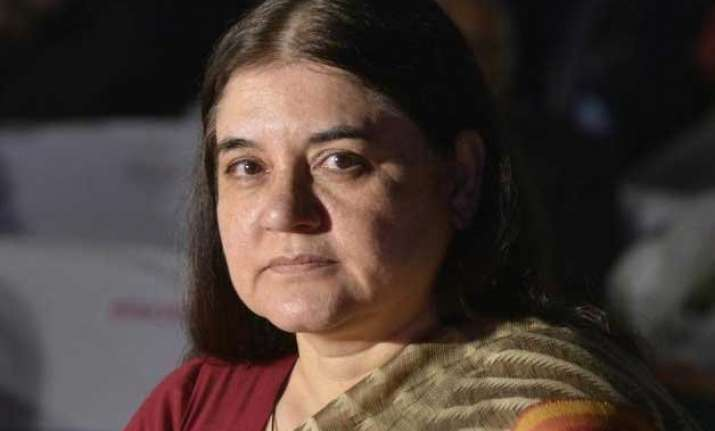 2000 girls get killed inside wombs daily maneka gandhi