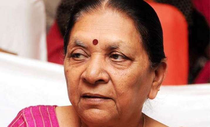 maharashtra polls anandiben patel to jump into the bjp poll
