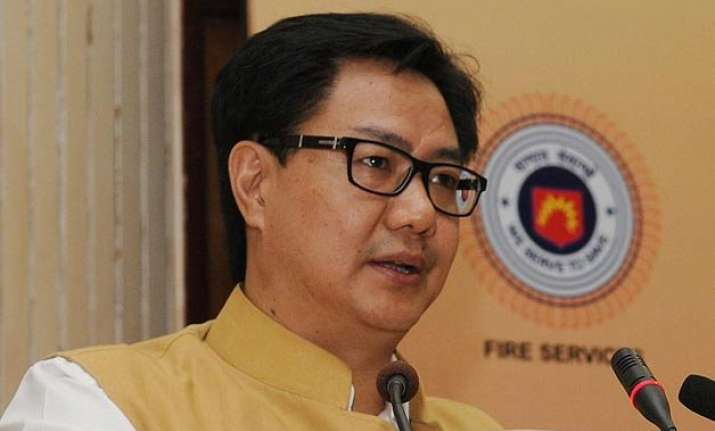 north indians enjoy breaking rules kiren rijiju agrees with