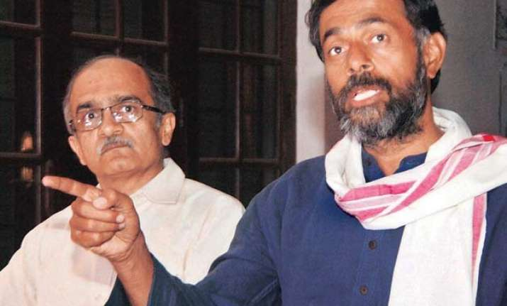 aap rivals stuck over theory and practicality of issues