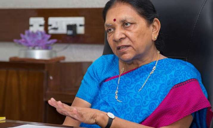 no one is allowed to take law in hands anandiben patel on