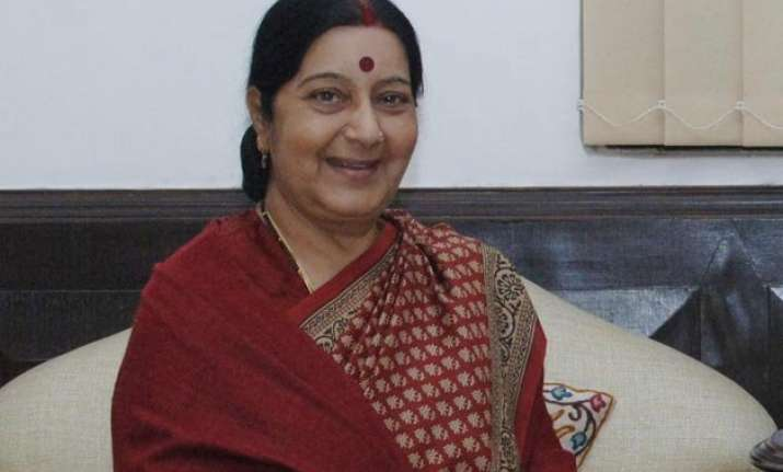 sushma swaraj to pay four day visit to china from feb 1