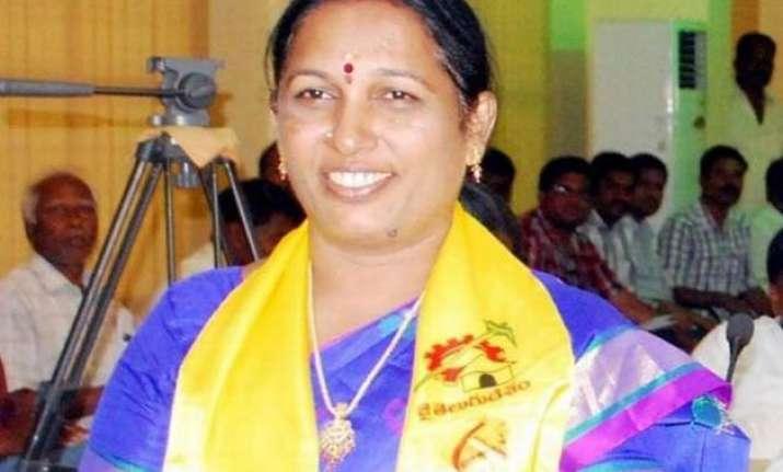 andhra pradesh chittoor mayor brutally murdered husband