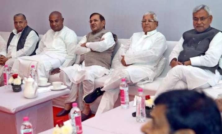 nitish kumar in delhi today to speed up talks for janata