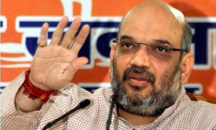 scam free bjp rule major problem of congress amit shah