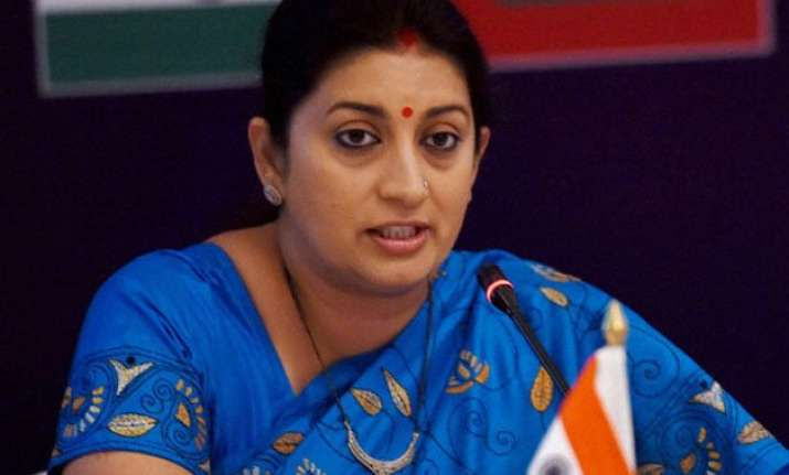 delhi hc exempts smriti irani from personal appearance in