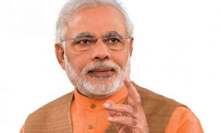pm modi appeals jharkhand and j k voters to vote in large