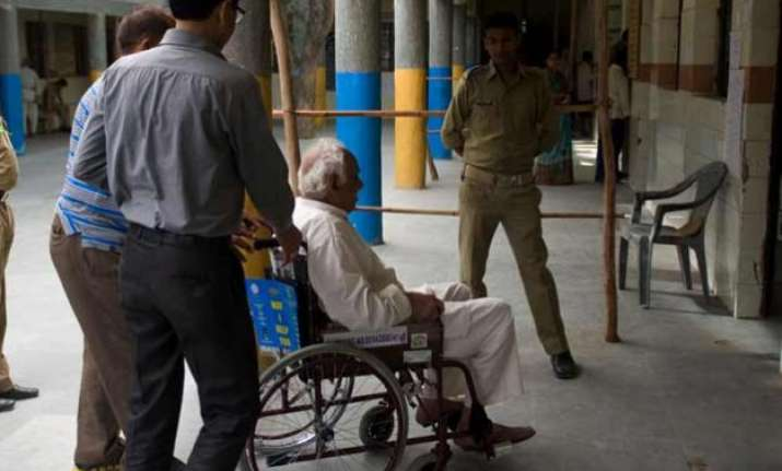differently abled may face difficulty at 11 poll booths