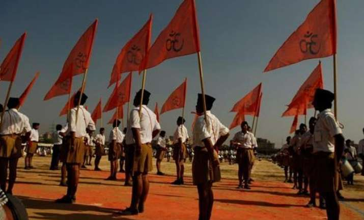 britishers tinkered with vedas on beef eating rss s
