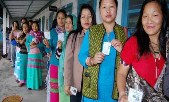 kanubari bypoll 90 per cent polling recorded