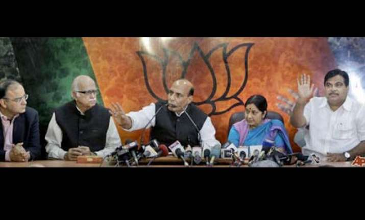 bjp wants to meet pm on situation in j k