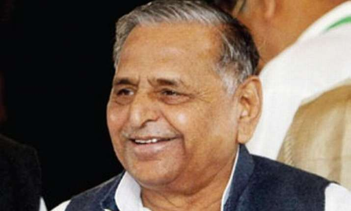 mulayam singh yadav re elected as sp chief for 9th