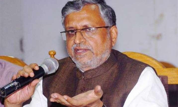 caste census data release after error correction sushil modi