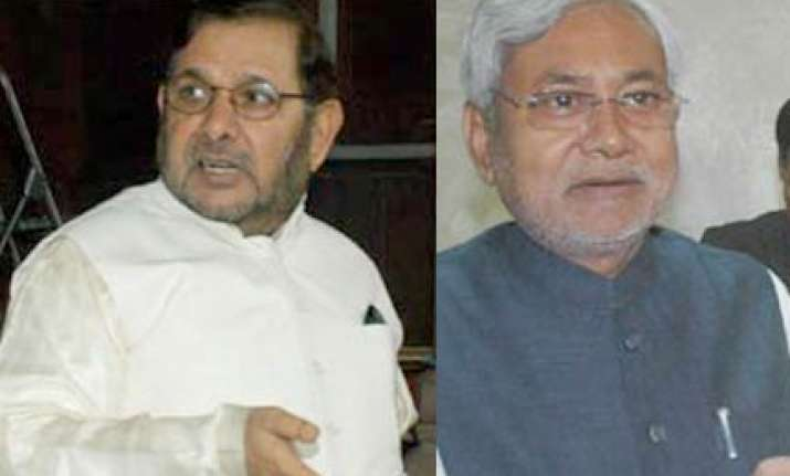 sharad nitish differences will not split jd u says party