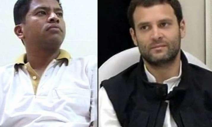 former congress mp pradeep majhi says rahul gandhi was