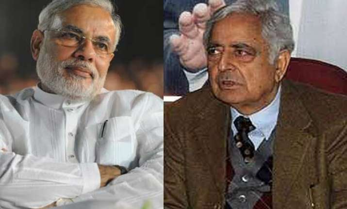j k govt formation modi mufti to meet today to resolve last