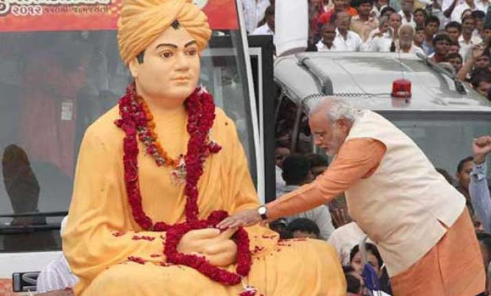 swami vivekananda prime minister narendra modi s source of