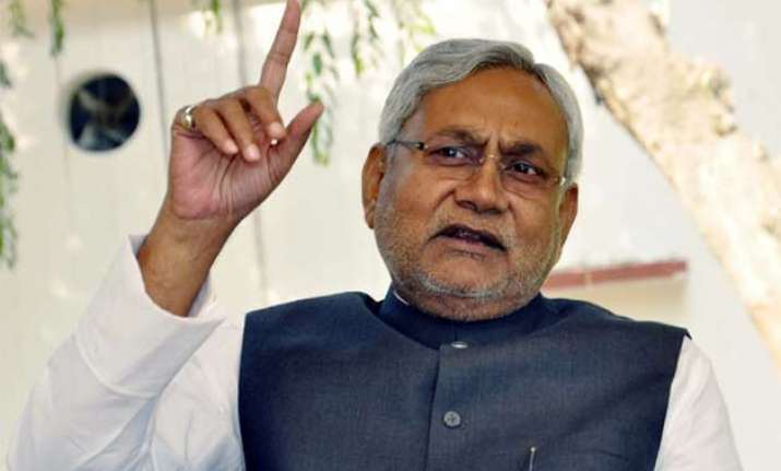 nitish condemns rss chief s comment on mother teresa