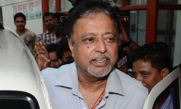 trinamool lacks capacity to conspire says mukul roy