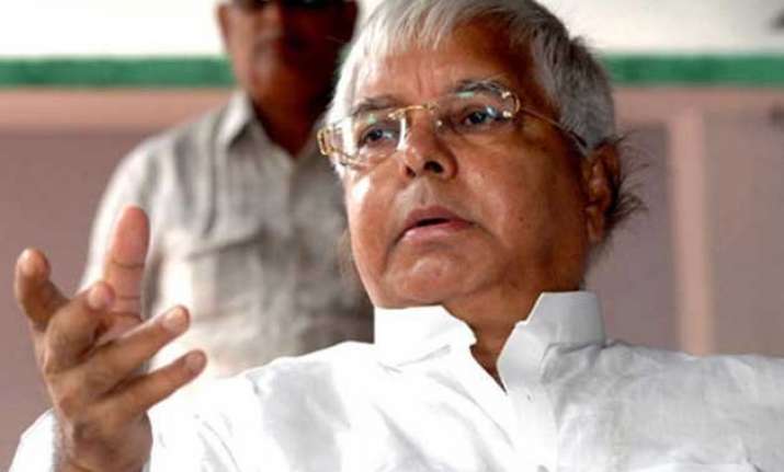 who else but my son will be my successor lalu