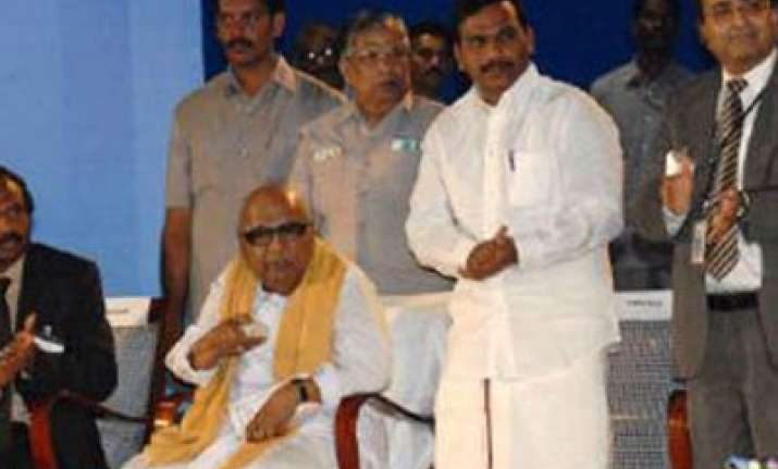 karunanidhi will select raja s replacement says kanimozhi