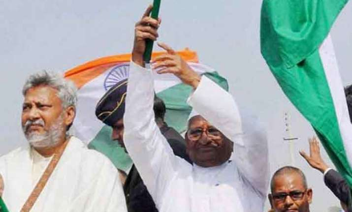 anna hazare to sit on dharna against land ordinance in