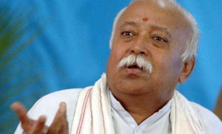 rss not a political outfit bhagwat