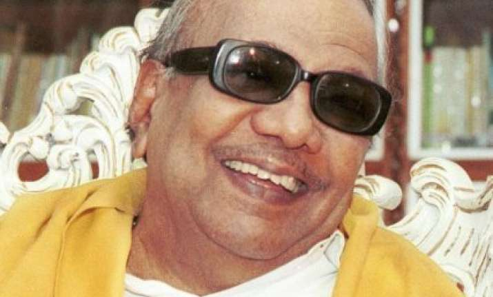 dmk chief hits out at tn governor rosaiah