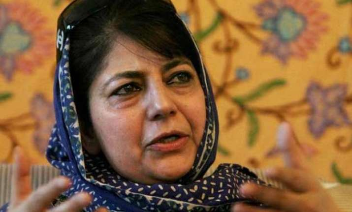 when will mehbooba mufti take oath the suspense continues