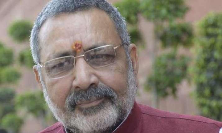 do you have rape experience giriraj singh asks mulayam