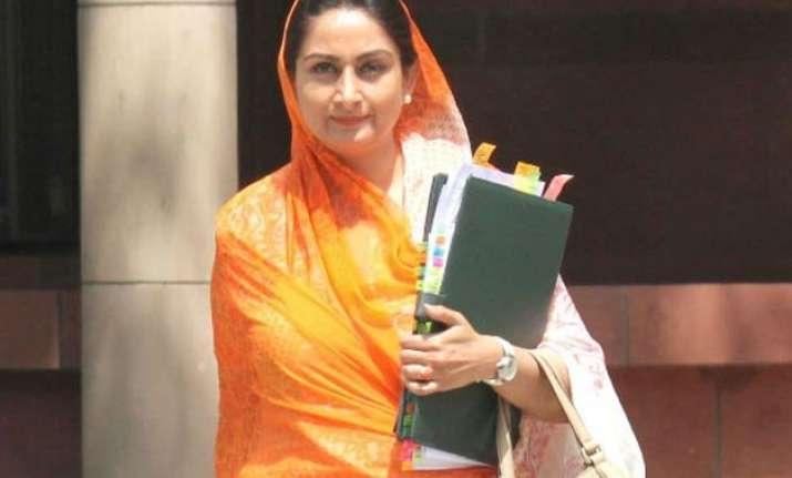 union minister harsimrat kaur badal takes on rahul gandhi