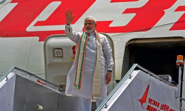 pm narendra modi leaves for uae on two day visit