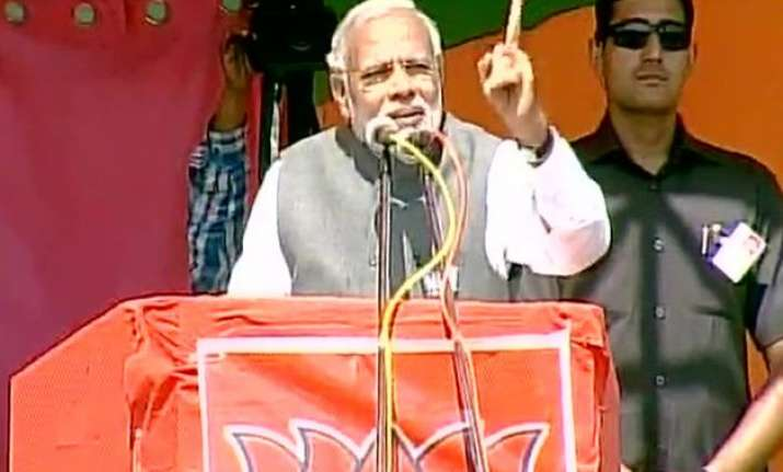 no tantric can save nitish kumar in bihar pm modi in