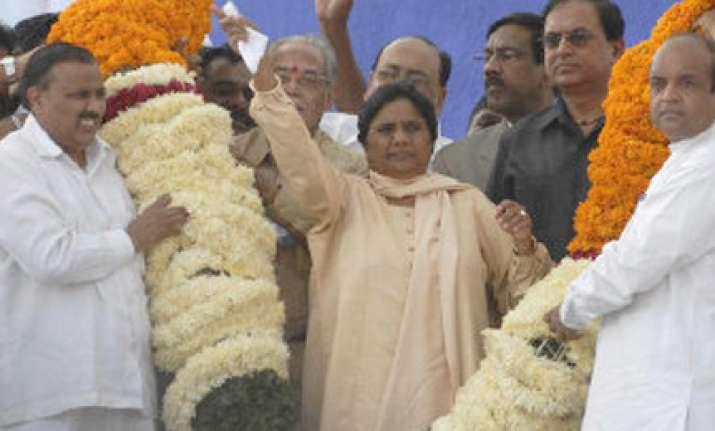 mayawati to abolish birthday collections