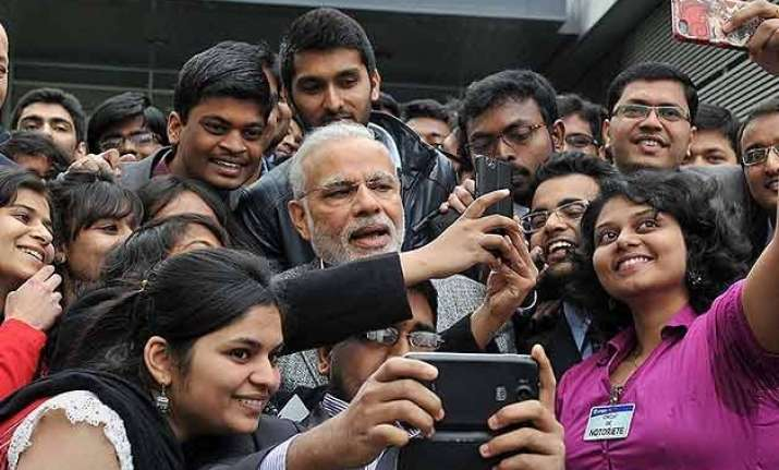 pm modi is most accessible politician on internet
