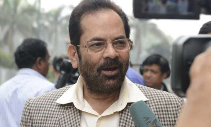 beef eaters can go to pakistan mukhtar abbas naqvi