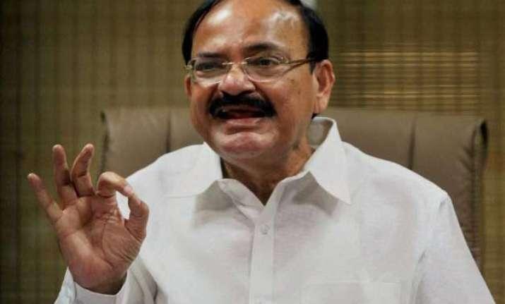 naidu takes a dig at congress over delhi poll debacle