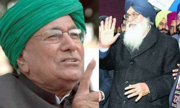 akalis to campaign for chautala s party in haryana