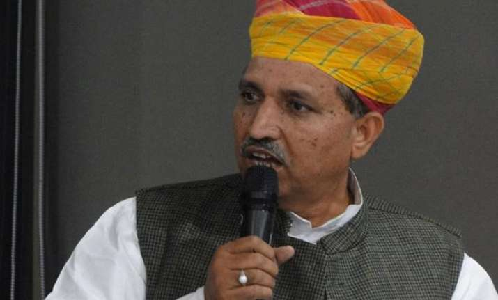 robert vadra will definitely be caught arjun ram meghwal