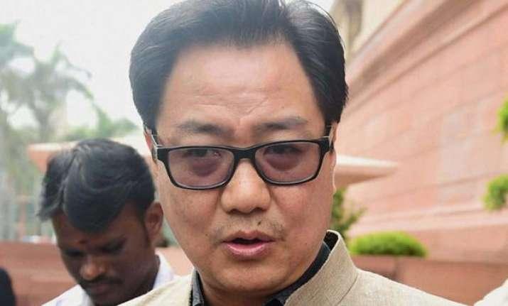my remark on beef ban misunderstood says kiren rijiju
