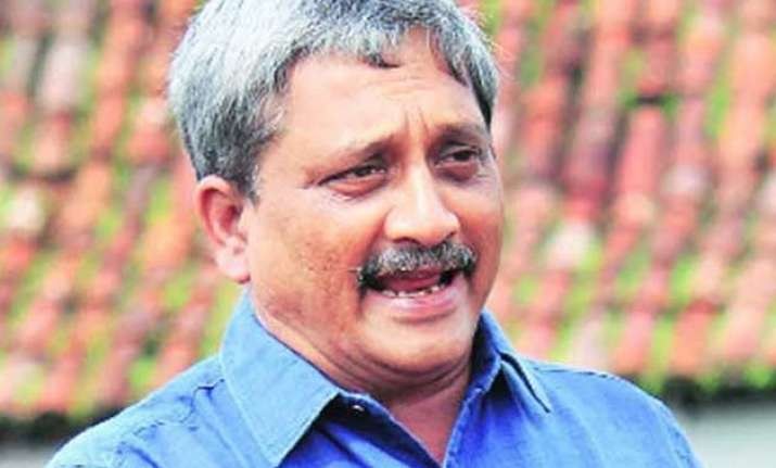 army short of around 10 000 officers manohar parrikar