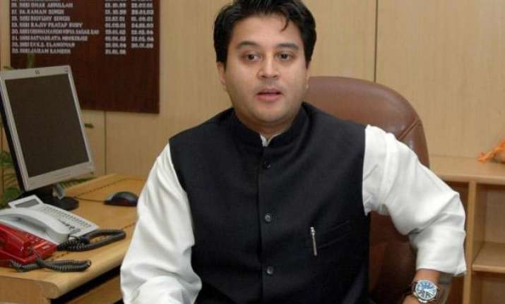 vyapam scam will be raised in parliament jyotiraditya