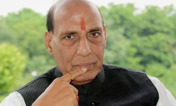 congress left accuse rajnath singh of communalising jnu