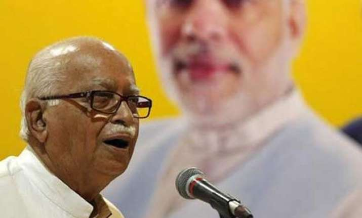 no question mark on freedom of expression in country advani