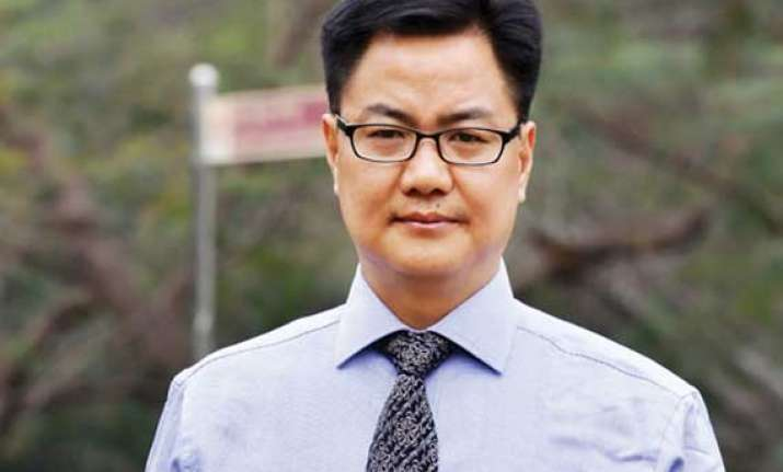 helpline for people from northeast to be set up kiren rijiju