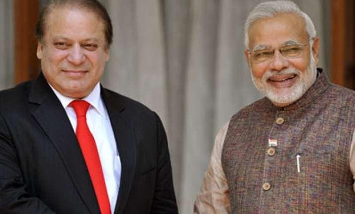 pm modi to meet pakistan premier nawaz sharif tomorrow
