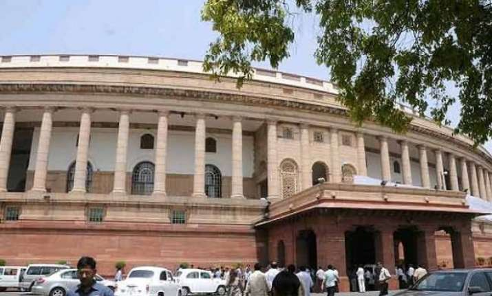 ruckus in rajya sabha over land ordinance
