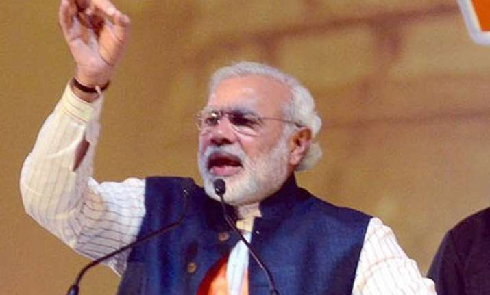 hindus muslims should fight poverty not each other pm modi