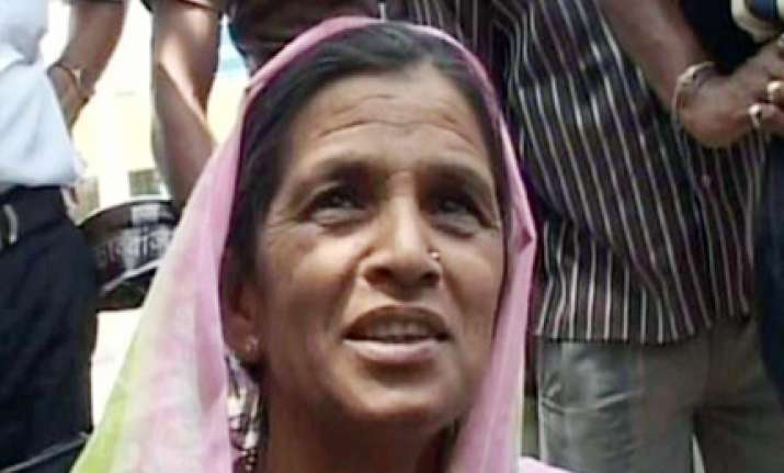 maha polls samiti replaces kalavati with another farm widow